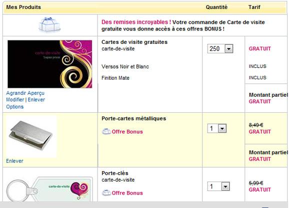 250 Carte De Visite Gratuite Sur Vistaprint Promo Gratuit